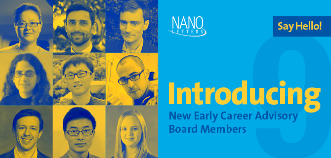 9 Promising Young Scientists Join Nano Letters' Early Career