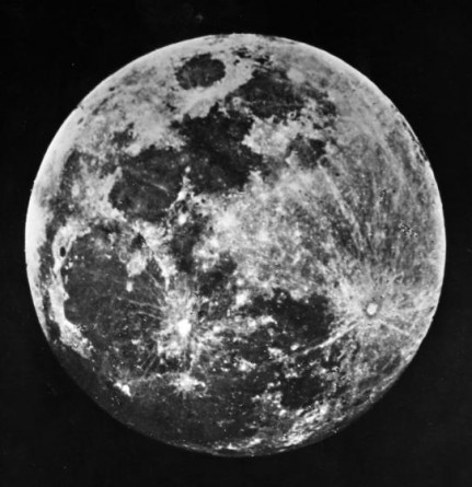 Draper photo of Moon