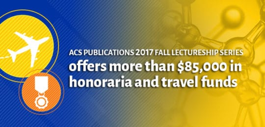 ACS Publications 2017 Fall Lectureship Series