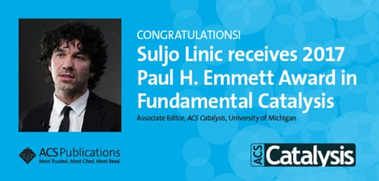 Suljo Linic Receives 2017 Paul H. Emmett Award in Fundamental Catalysis