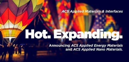 ACS Announces New Materials Journals