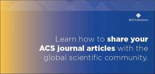 Sharing Your Work Published with ACS