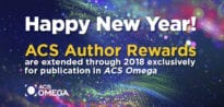 ACS Author Rewards ACS Omega