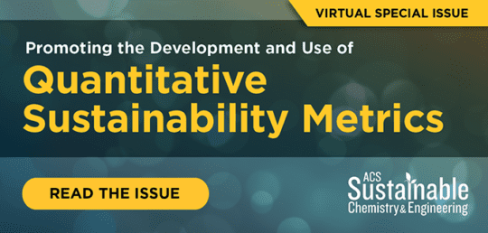 Quantitative Sustainability Metrics