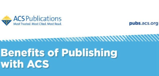 benefits of publishing with acs
