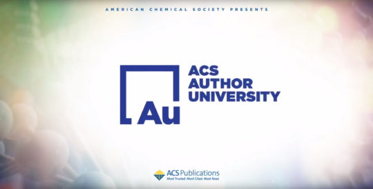 ACS Author University